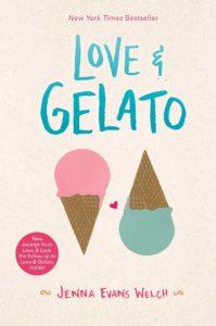 Love & Gelato book cover