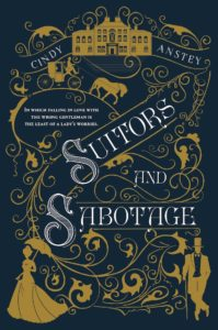 Suitors and Sabotage book cover