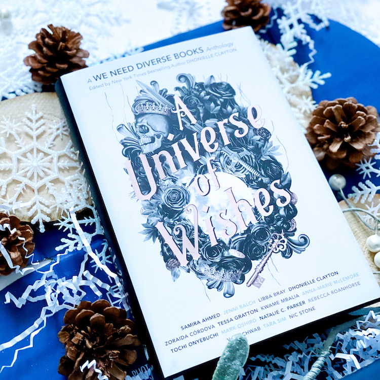 A Universe of Wishes exclusive OwlCrate book cover