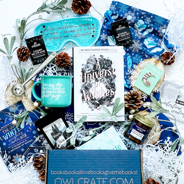 OwlCrate Winter Wishes Unboxing
