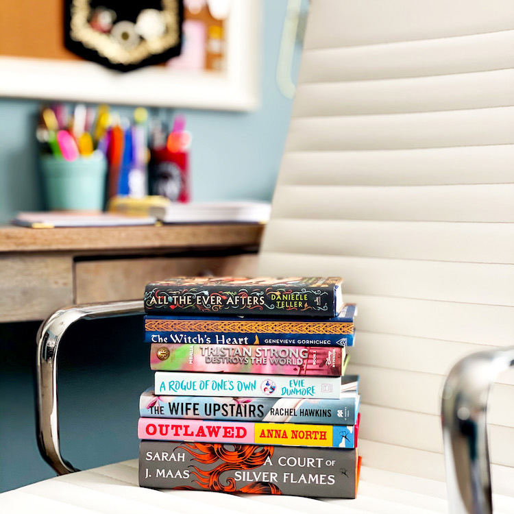 February Files 2021 Book Stack