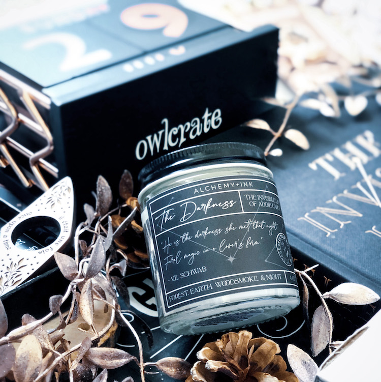 OwlCrate Special Edition The Darkness candle
