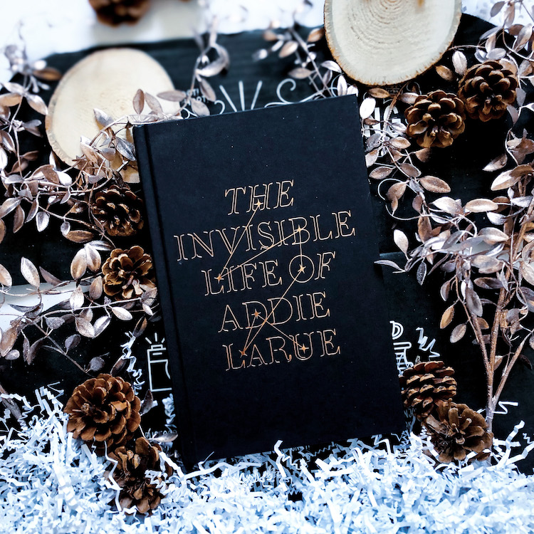 OwlCrate exclusive The Invisible Life of Addie LaRue