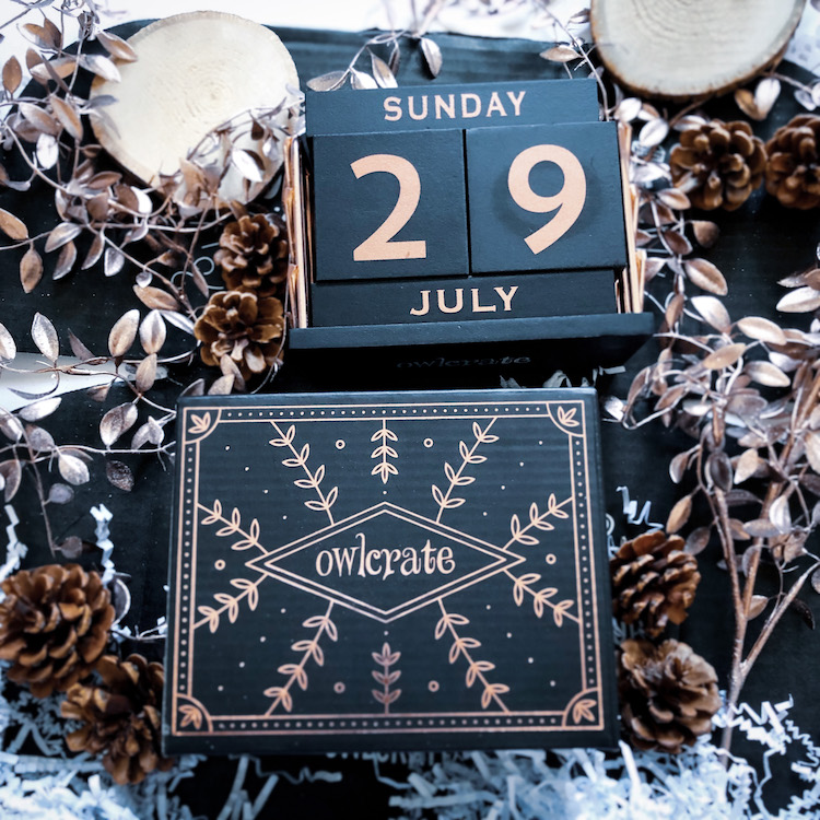 OwlCrate Special Edition perpetual calendar