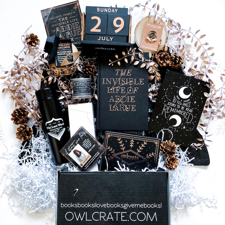 OwlCrate Special Edition The Invisible Life of Addie LaRue unboxing