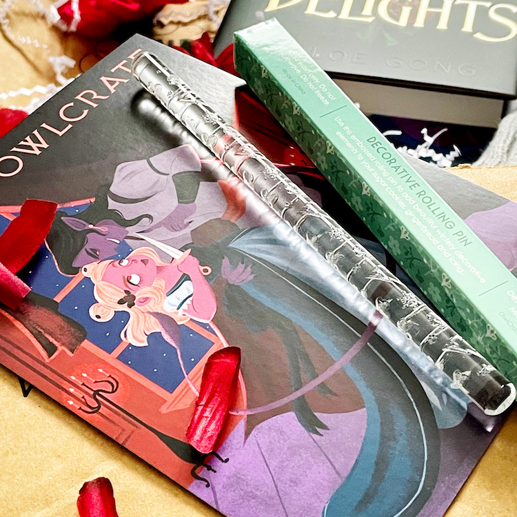OwlCrate December 2020 rolling pin