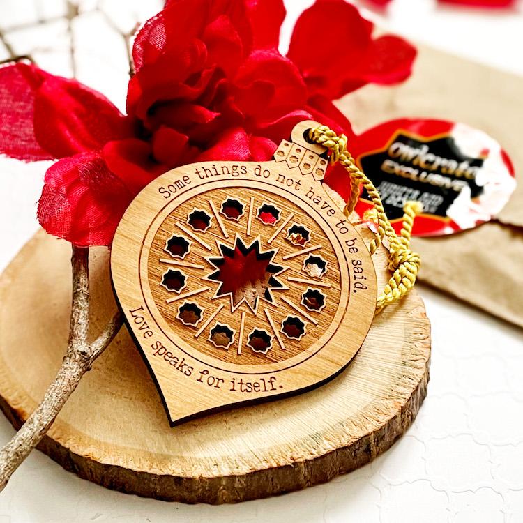 OwlCrate December 2020 ornament