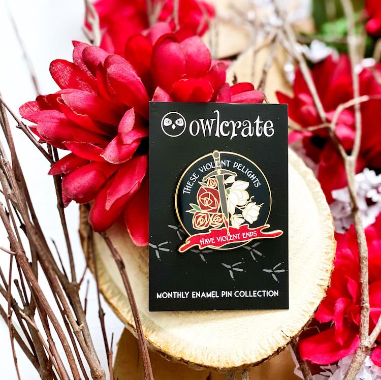 OwlCrate December 2020 enamel pin