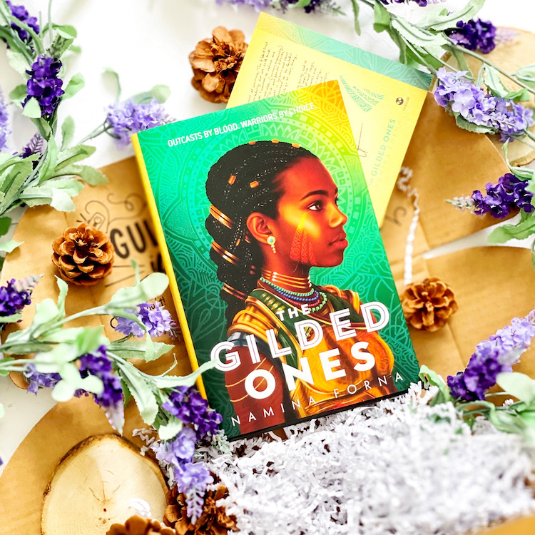 OwlCrate February 2021 The Gilded Ones