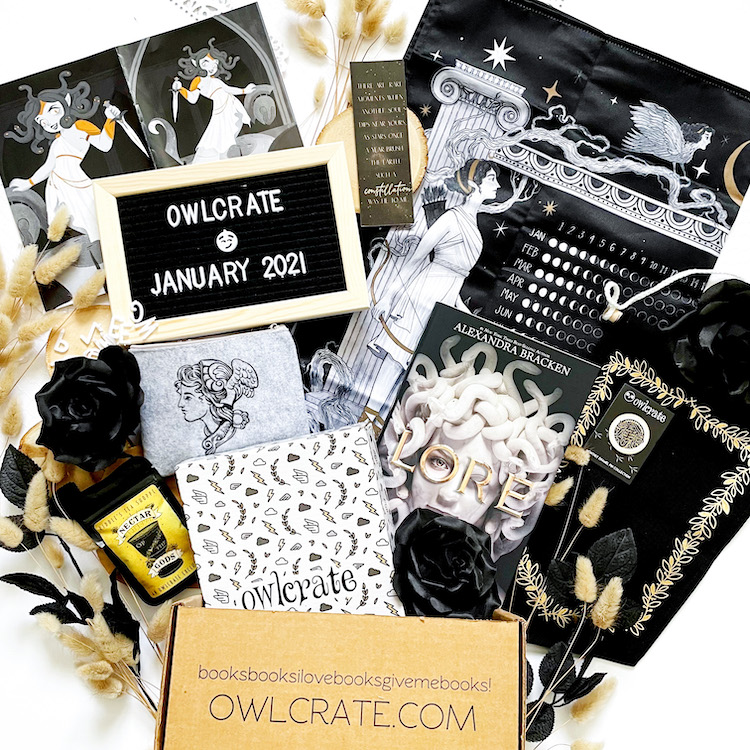 OwlCrate January 2021 Unboxing