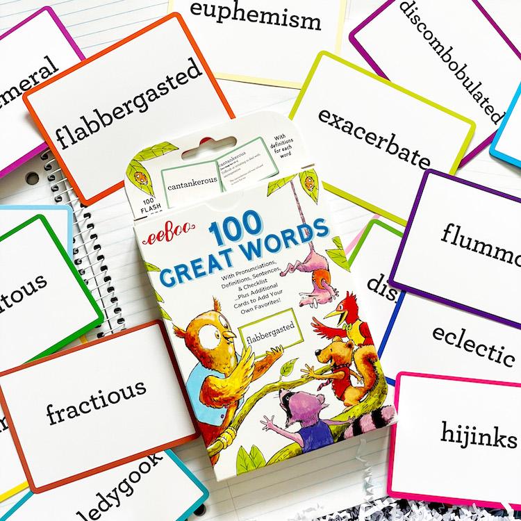 Eeboo's 100 Great Words