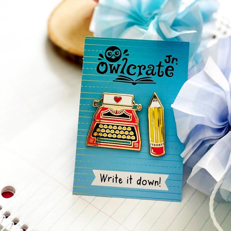 OwlCrate Jr. February 2021 Enamel Pins