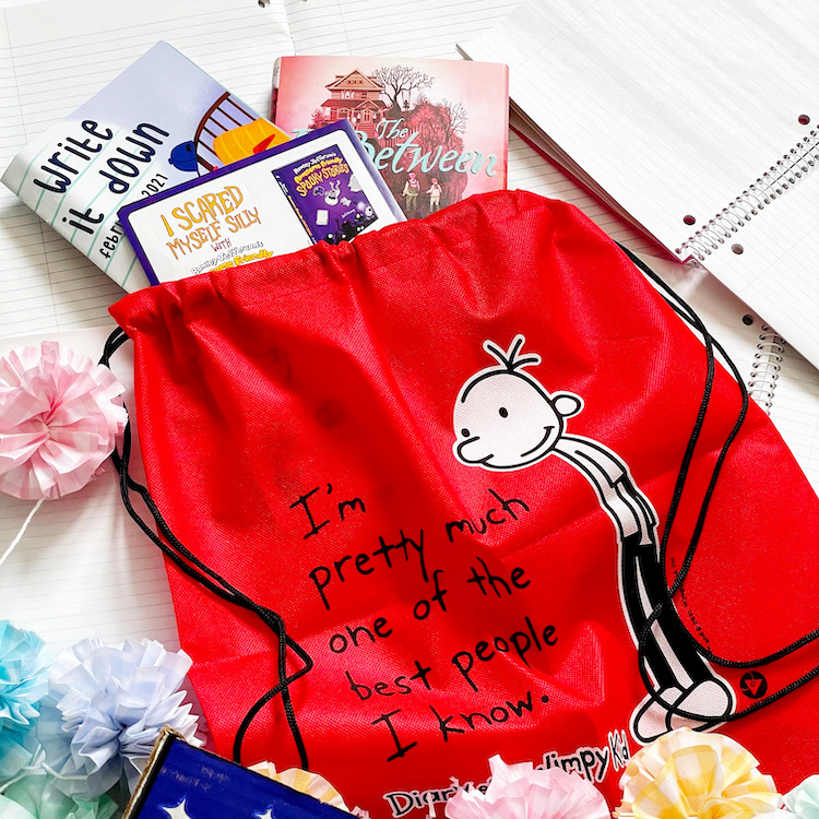 Diary of a Wimpy Kid Bag