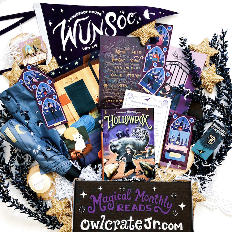OwlCrate Jr. Nevermoor unboxing