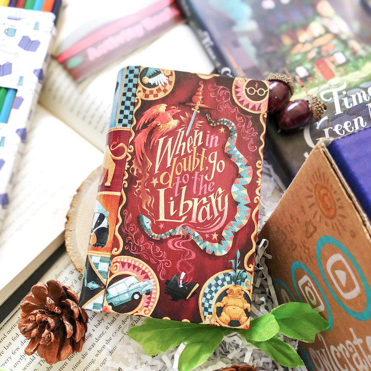OwlCrate Jr. July 2020 book tin