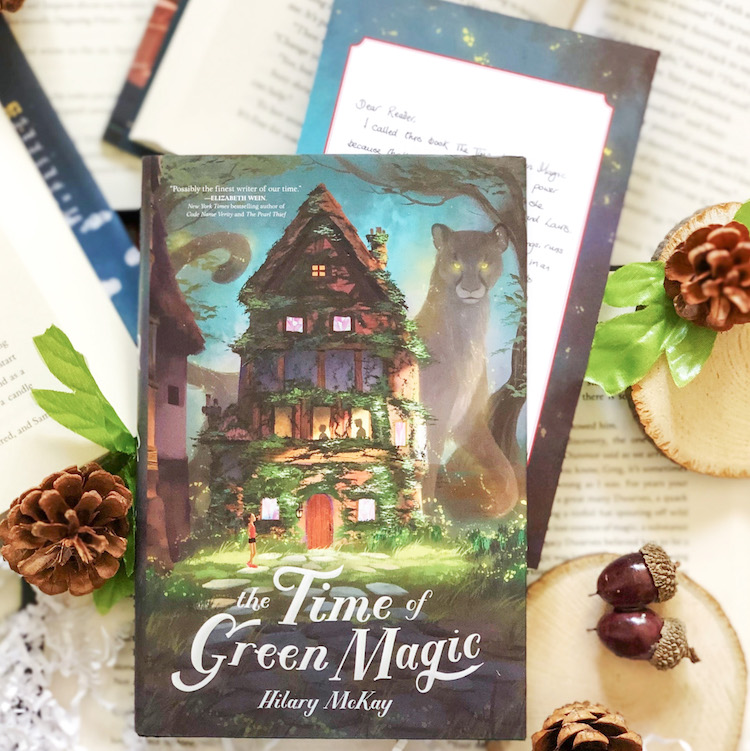 OwlCrate Jr. July 2020 The Time of Green Magic