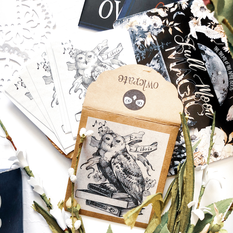 OwlCrate March 2020 bookplates