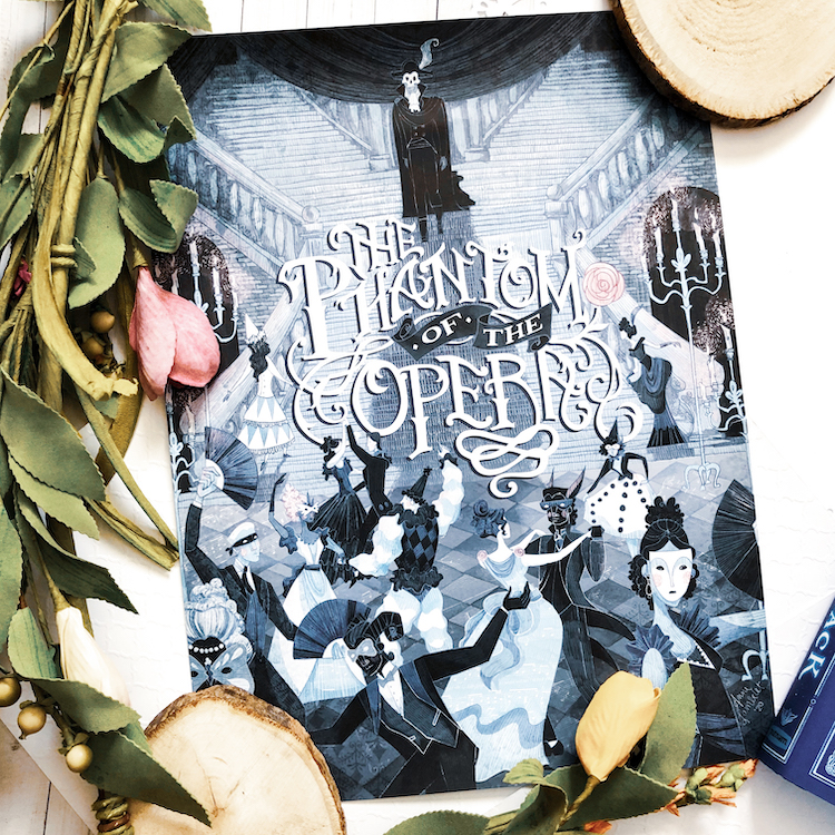 OwlCrate March 2020 Phantom of the Opera poster