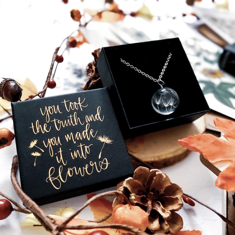 OwlCrate November 2020 Necklace