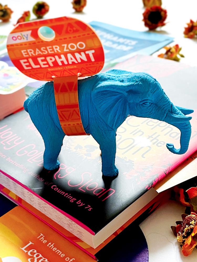 OwlCrate Jr. March 2021 Ooly Elephant Eraser