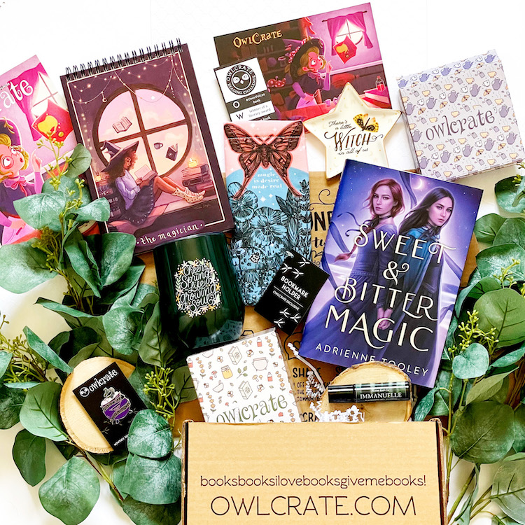 OwlCrate March 2021 unboxing