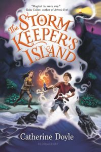 The Storm Keeper's Island book cover