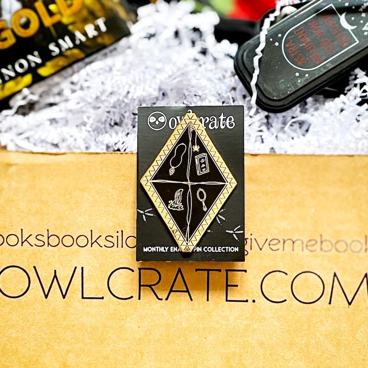 OwlCrate April 2021 Enamel Pin