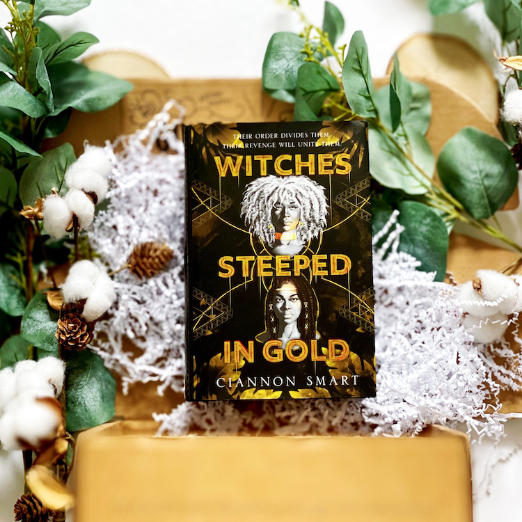 OwlCrate April 2021 Witches Steeped in Gold