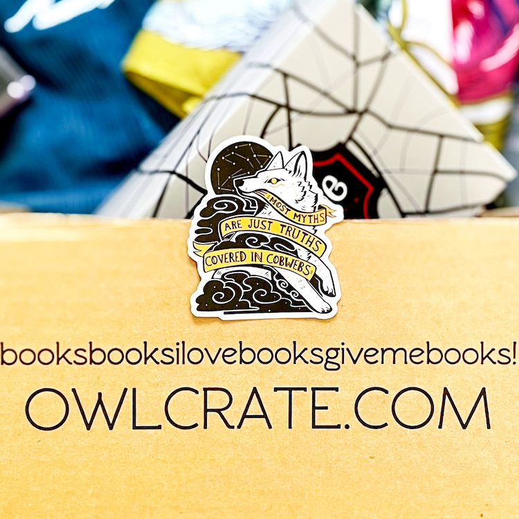 OwlCrate May 2021 Sticker