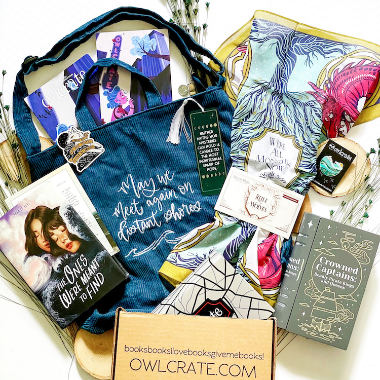OwlCrate May 2021 Unboxing