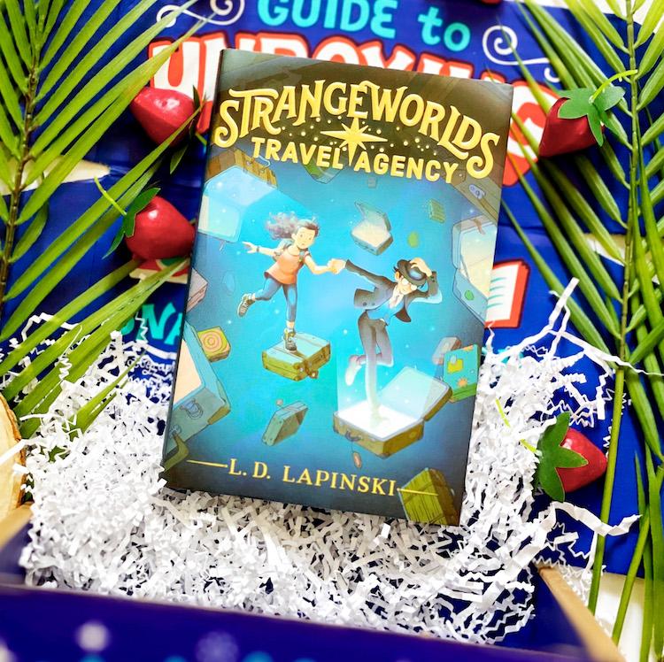 OwlCrate Jr. June 2021 Strangeworlds Travel Agency