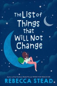 The List of Things that Will Not Change book cover